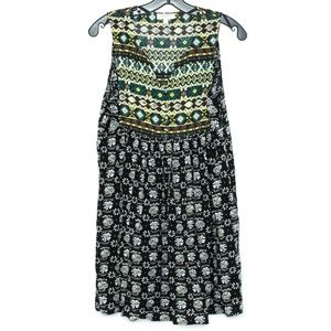 Umgee Womens Dress Floral Button Small
